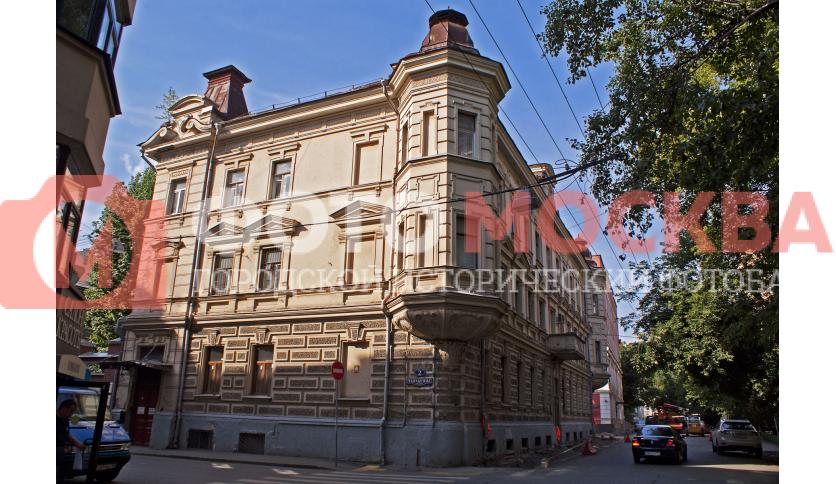 Бывший особняк Н.Ф. Грибова