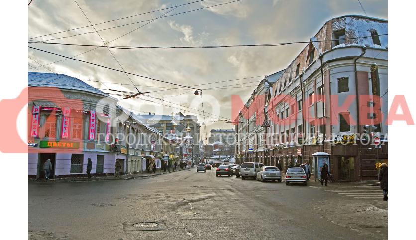 Улица Солянский проезд