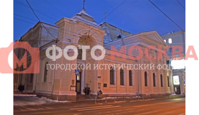 Храм Троицы Живоначальной на Грязех у Покровских ворот