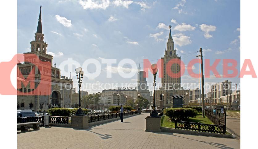 Сквер на Комсомольской площади
