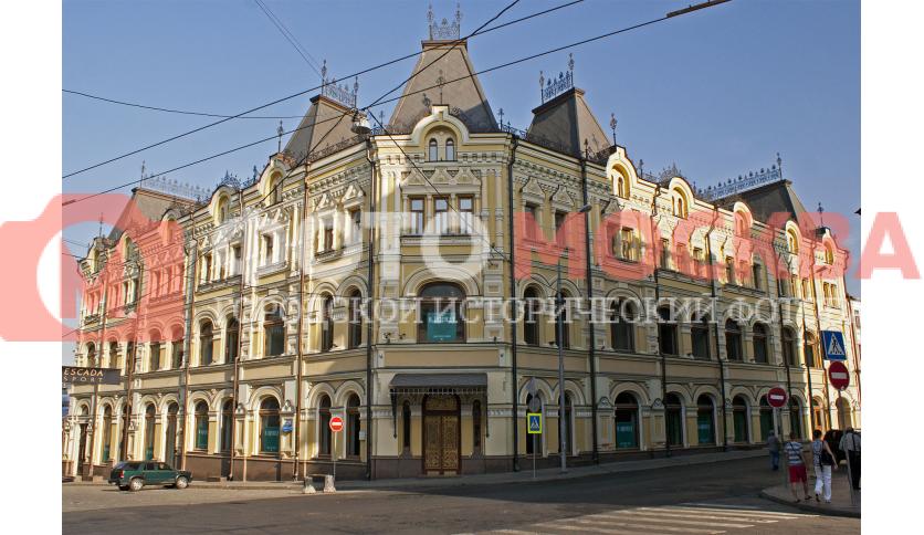 Бывший доходный дом братьев Третьяковых