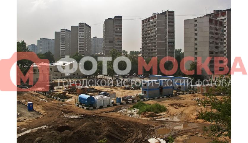 Строительство общежития Военного университета