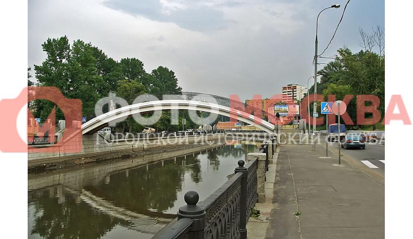 Салтыковский пешеходный мост через Яузу
