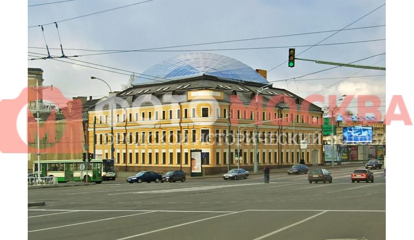 Улица Сергия Радонежского, дом 1, стр. 1