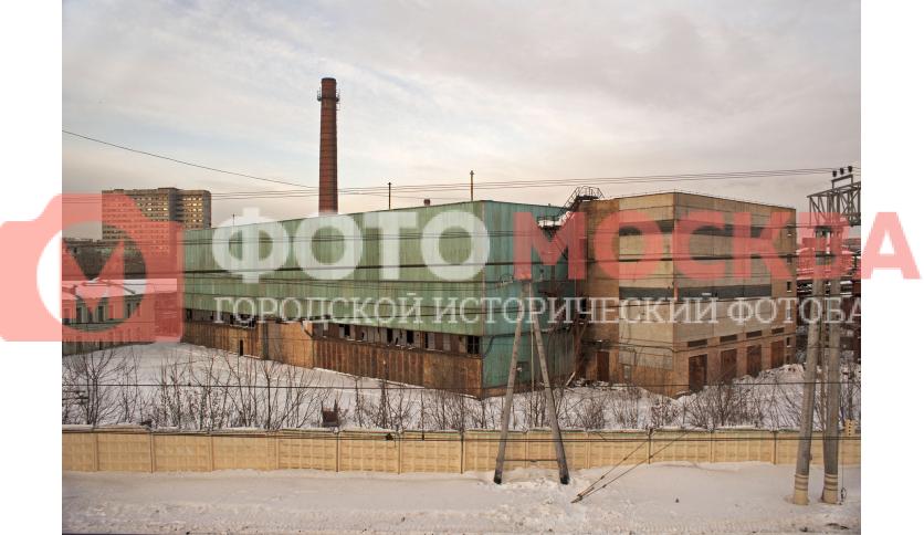 Заброшенный цех завода