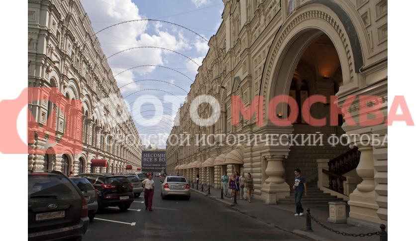ГУМ и Ветошный переулок