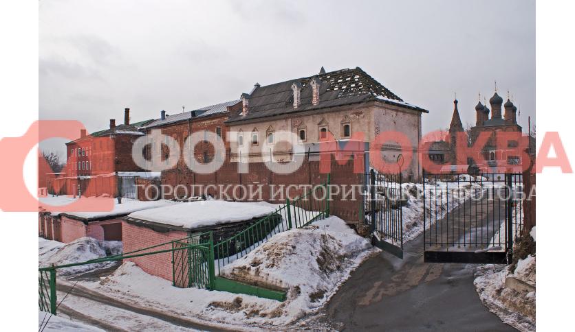 Сушильная и приказные палаты Крутицкого подворья