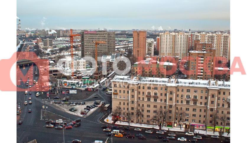 Угол Рогожского вала и улицы Рабочей
