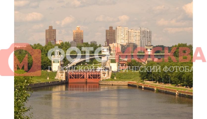 Шлюз №8 Канала имени Москвы