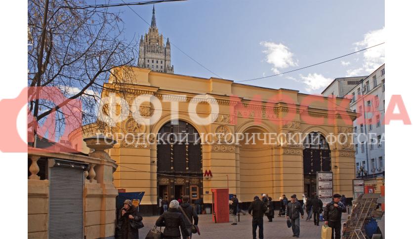 Станция метро Смоленская, Арбатско - Покровская линия