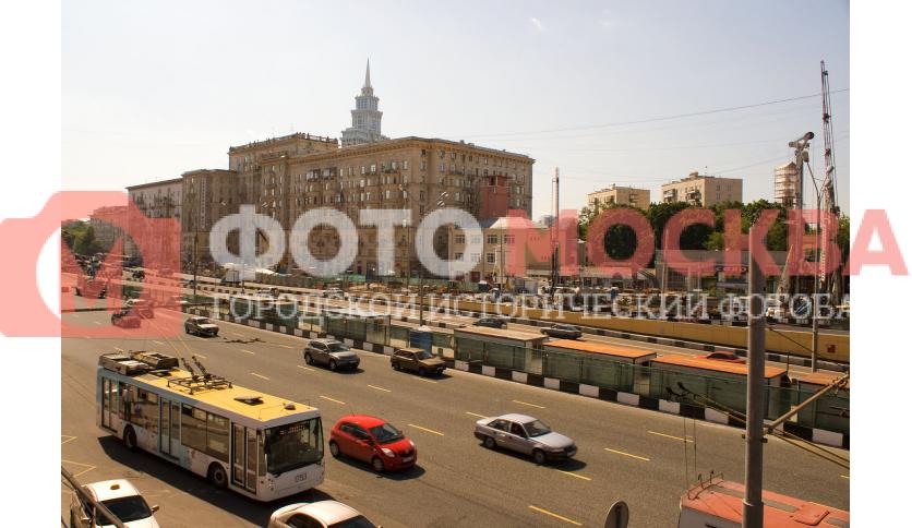 Окрестности метро Сокол