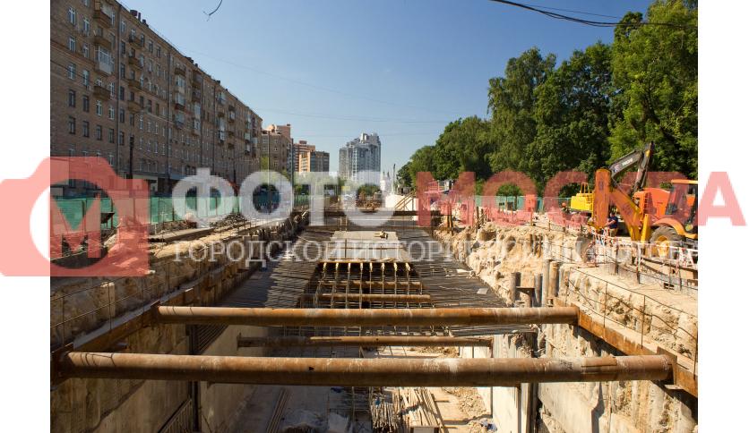 Реконструкция на улице Алабяна