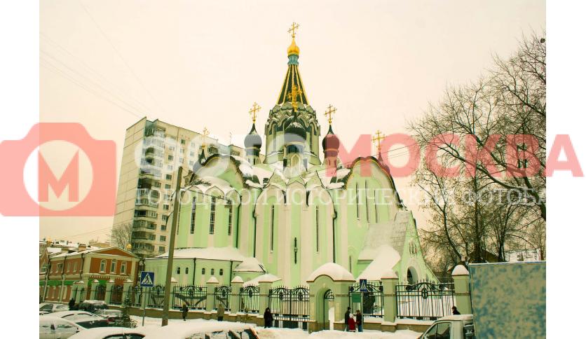 Храм вознесения Христова в Сокольниках
