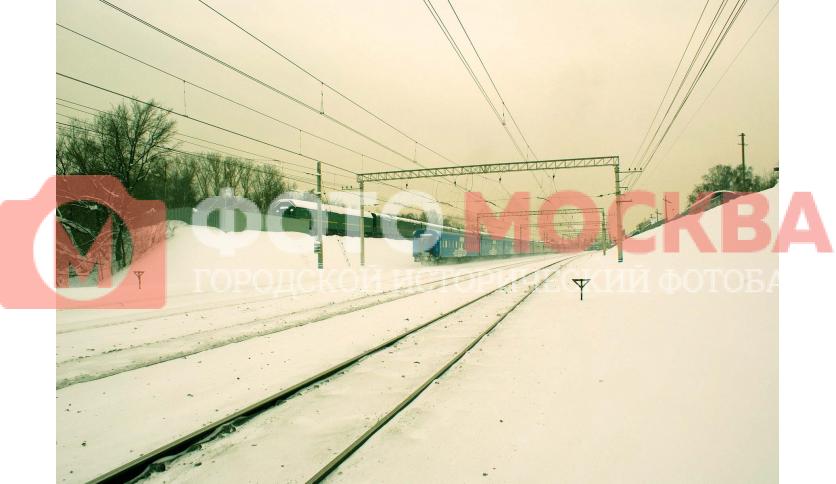 Железная дорога Ярославского направления за