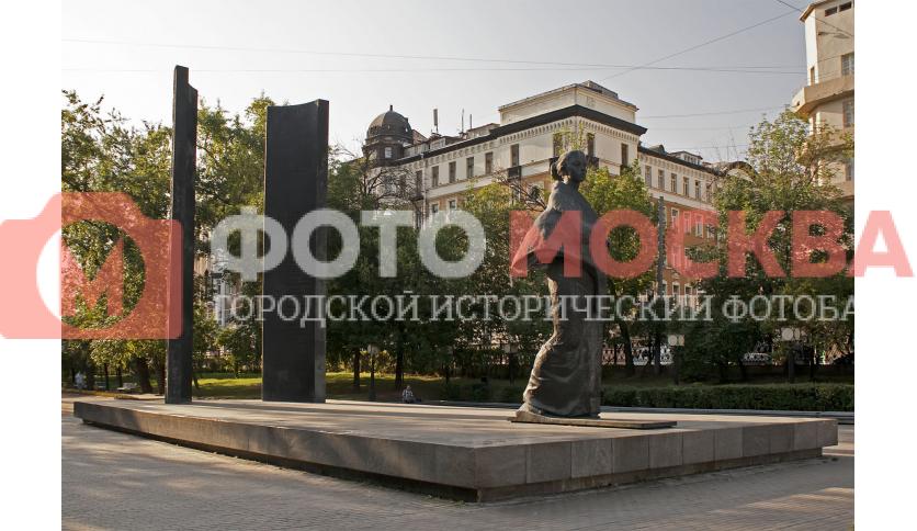 Памятник Н. К. Крупской