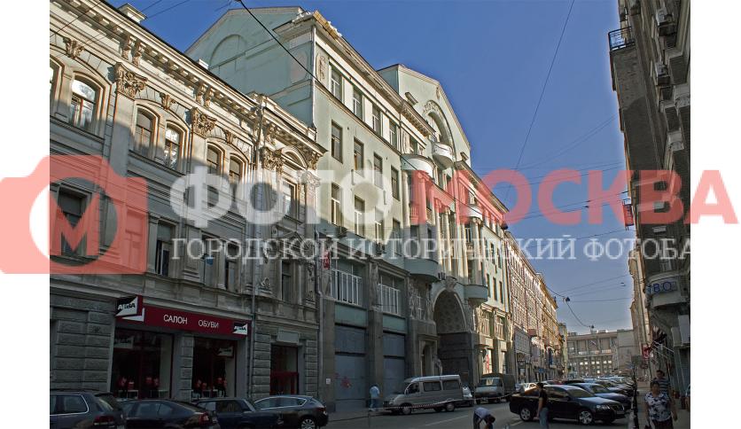 Бывший доходный дом И.Е. Кузнецова