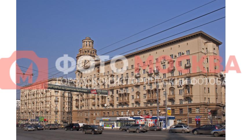 Малая Сухаревская пл., дома 1 и 3, строение 2
