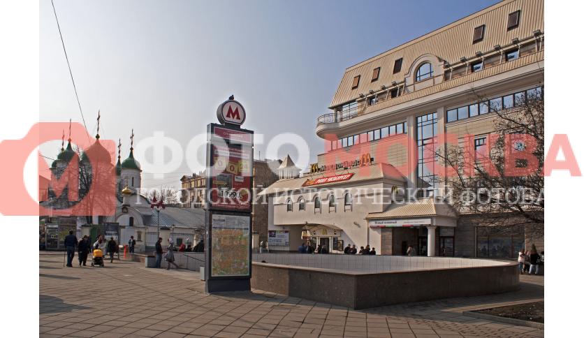 Станция метро Сухаревская