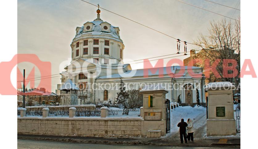 Храм преподобного Симеона Столпника за Яузой