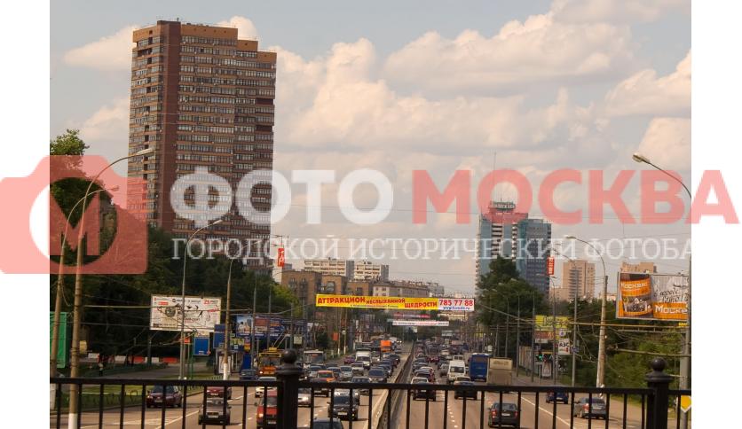 Дмитровское шоссе в районе метро Тимирязевская