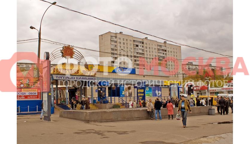 Станция метро Царицыно, южный выход