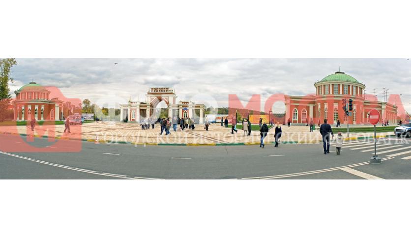 Главный вход в музей-заповедник Царицыно
