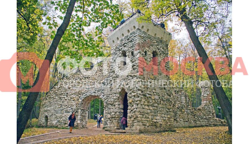 Башня - руина