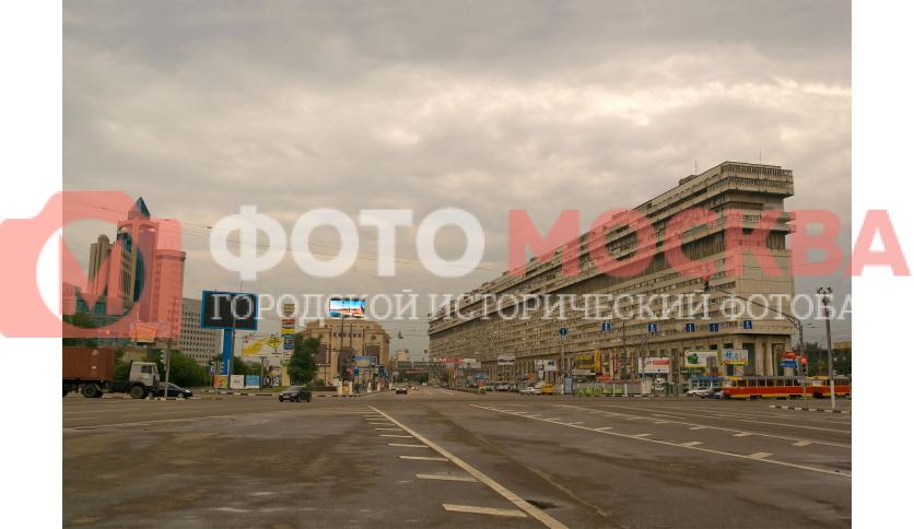Площадь Серпуховской Заставы