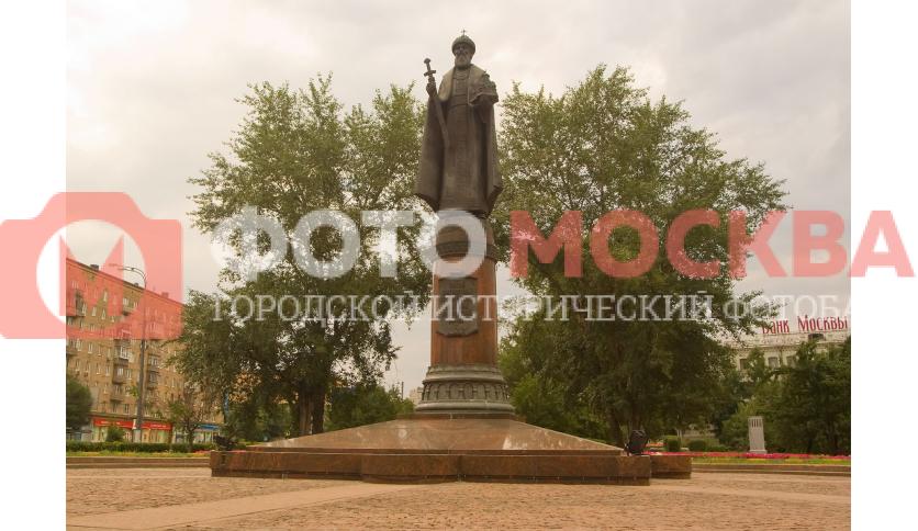 Памятник святому князю Даниилу Московскому