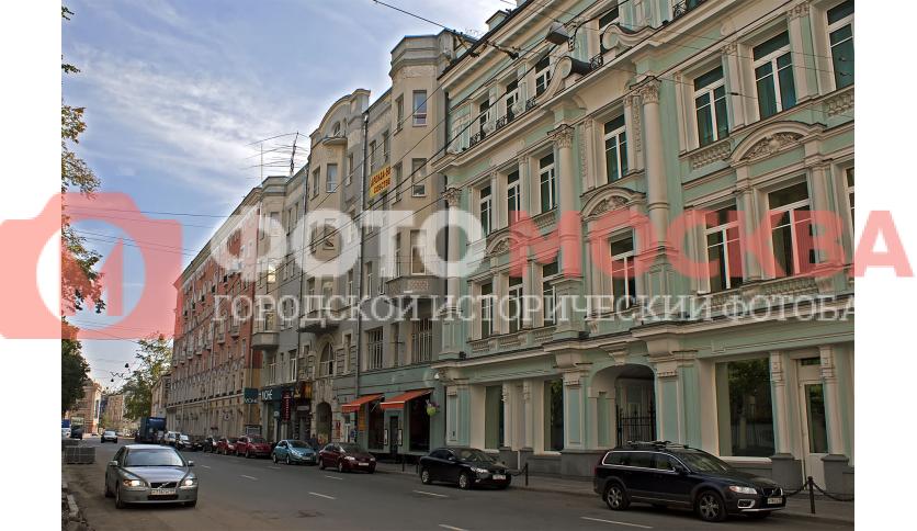 Улица Мясницкая, дома 38-40