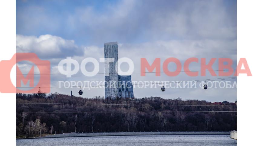 Канатная дорога через Москву-реку