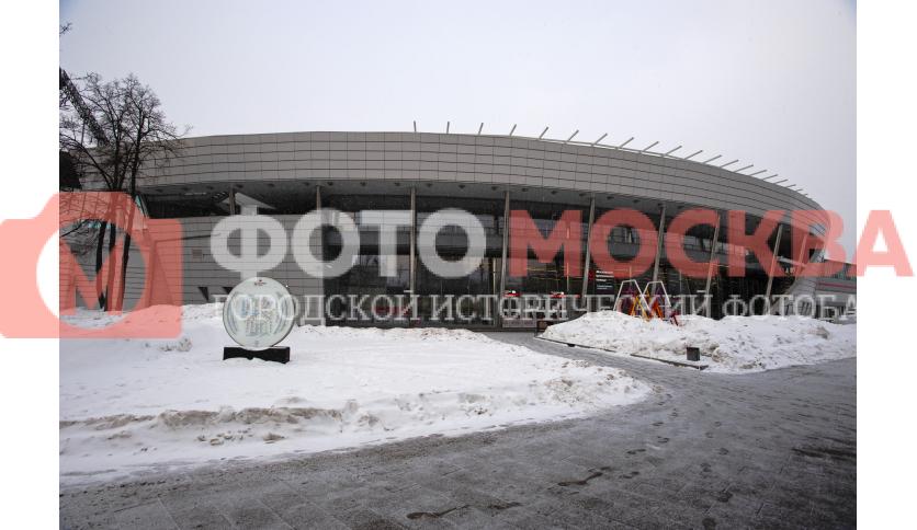 Станция МЦК Лужники