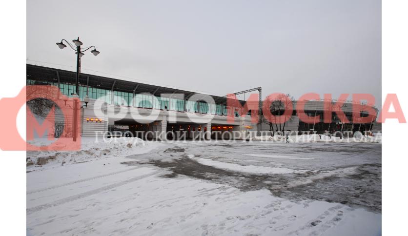 Центральный путепровод МЦК Лужники
