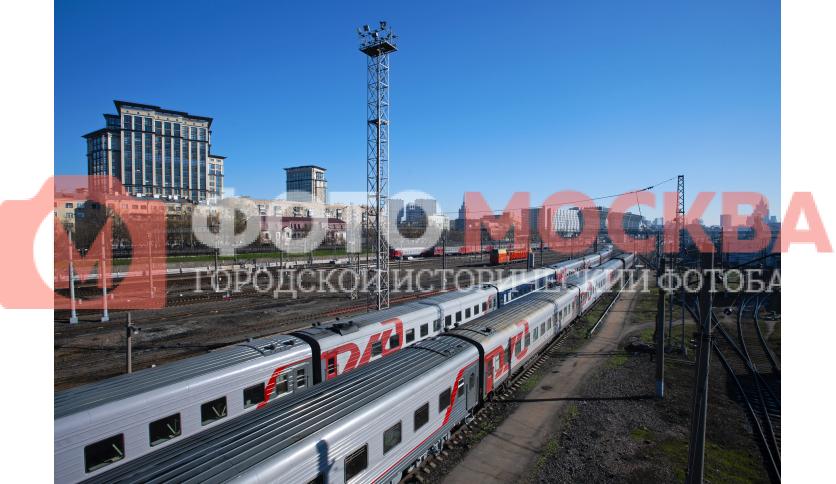 ЖД станция Москва-Пассажирская-Киевская