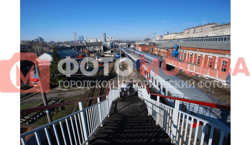 Переход через ЖД пути Киевского направления