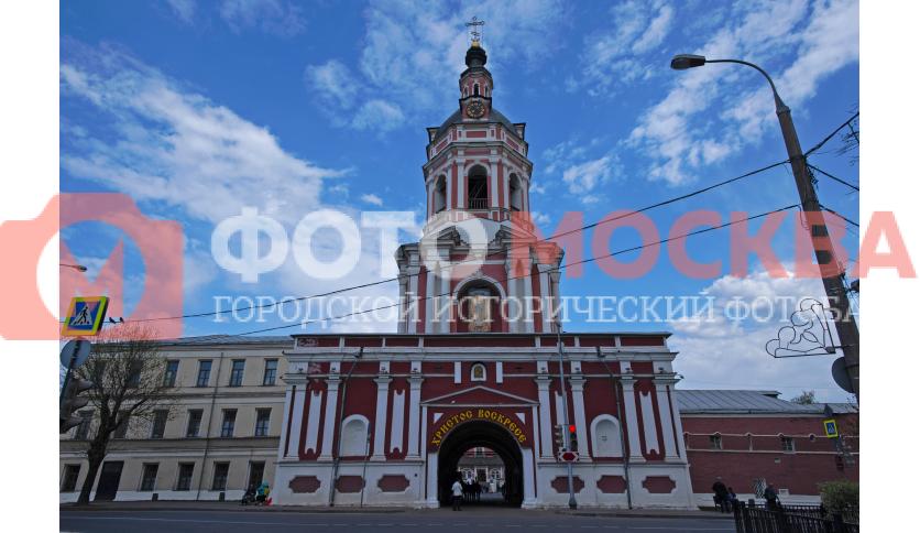 Западные ворота Донского монастыря