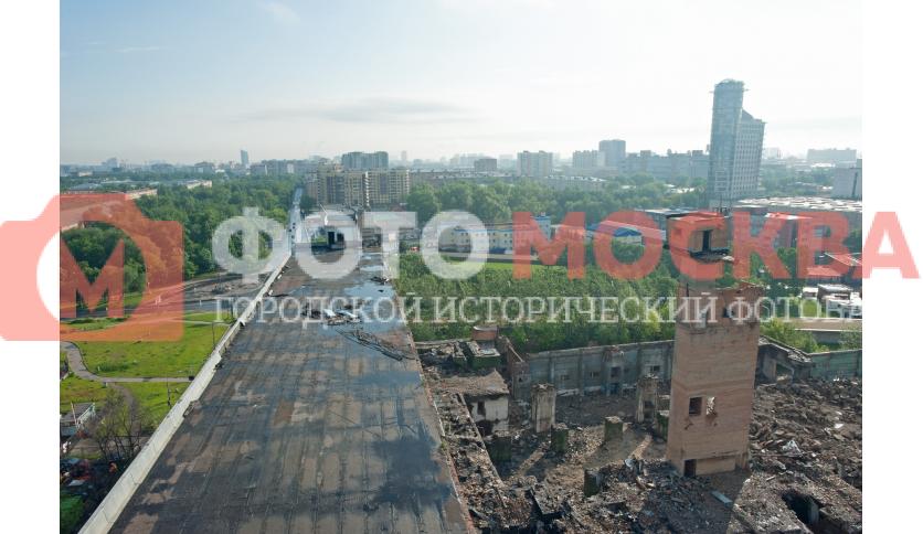 Вид с крыши ЦГППЛ