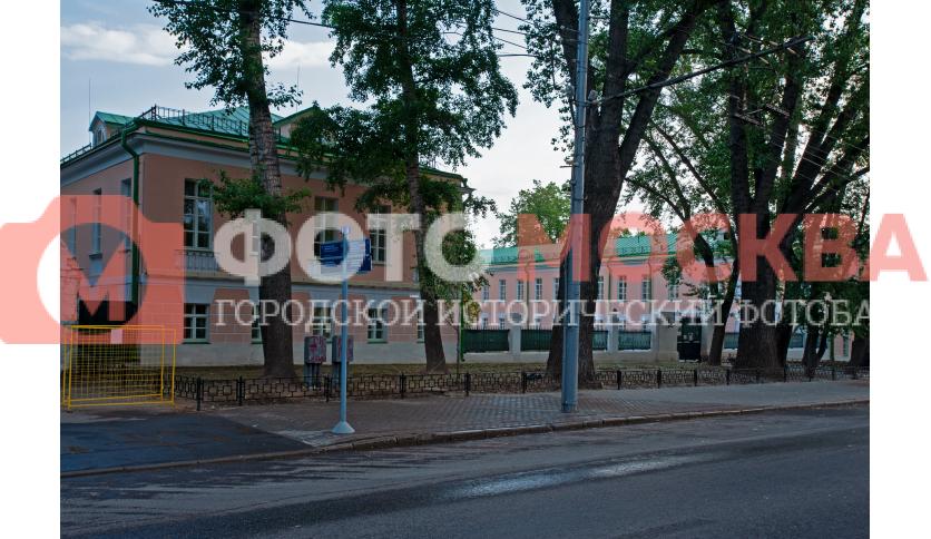 Боковые строения Ново-Екатерининской больницы