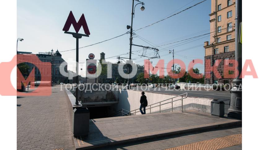 Вход № 2 станции метро «Пушкинская»