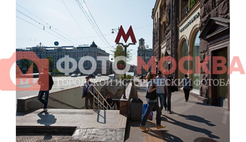 Вход № 4 на станцию метро
