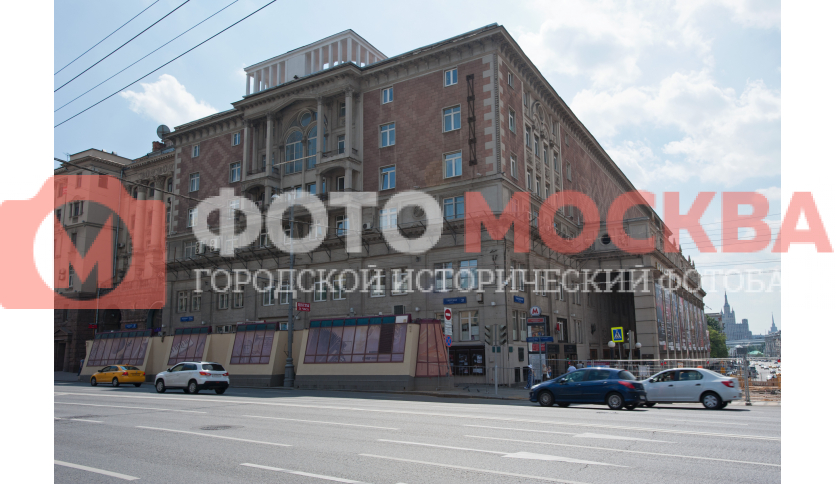 Торец концертного зала им. П.И. Чайковского