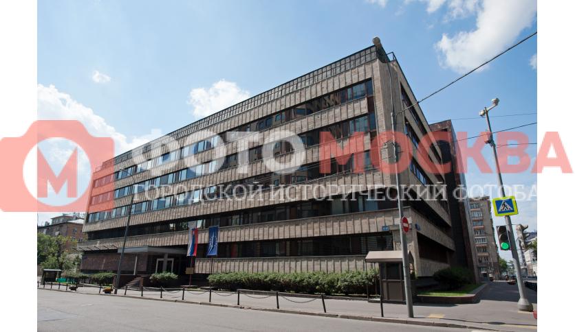Фронтиспис посольства Словакии