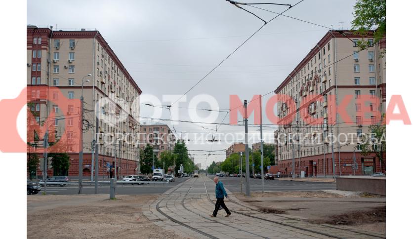 Трамвайные пути по 3-й Владимирской ул.