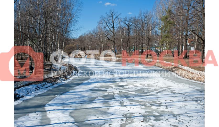 Вид на Лианозовский ручей