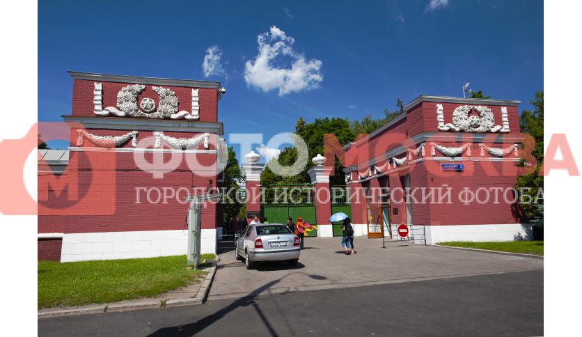 Ворота Новодевичьего кладбища