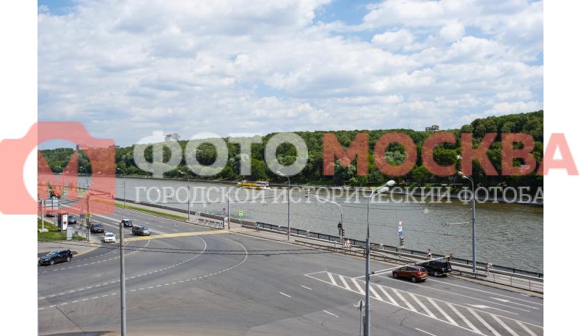 Москва-река с Лужнецкой эстакады