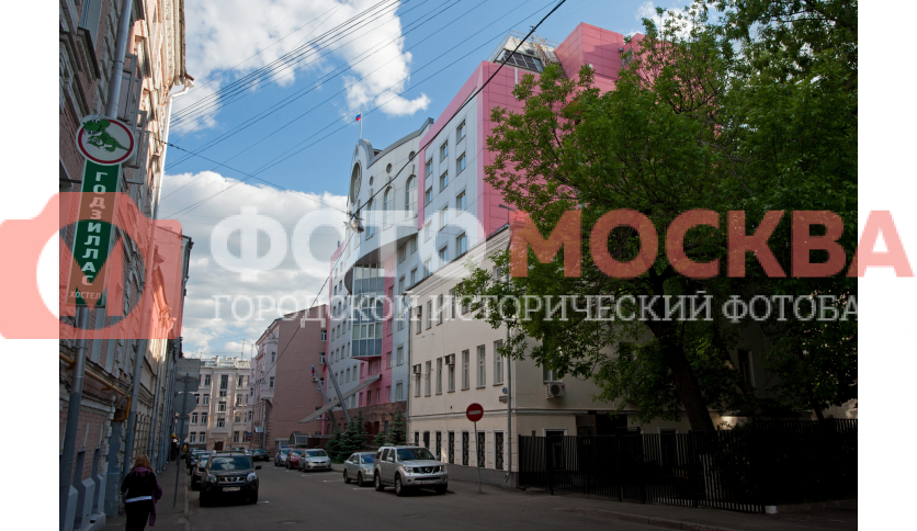 Здание служб ГУ МВД РФ