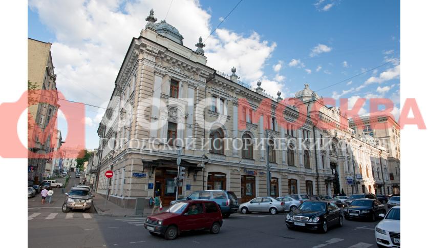 Здание комплекса Сандуновских бань
