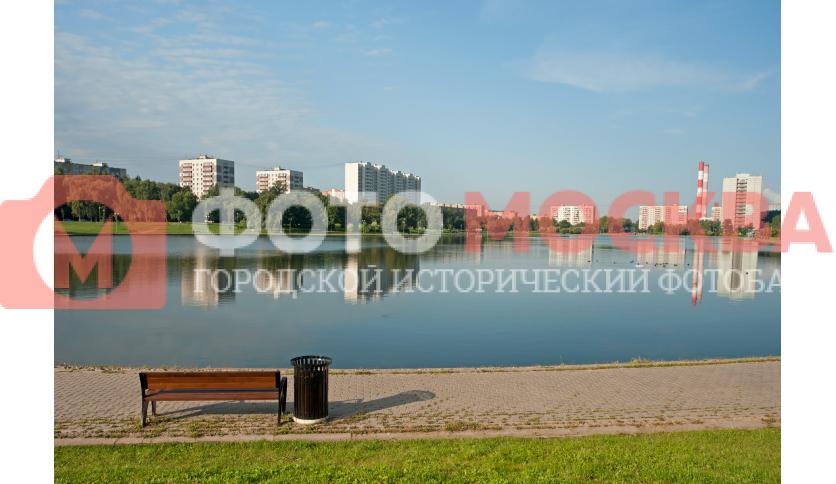 Скамья и Гольяновский пруд