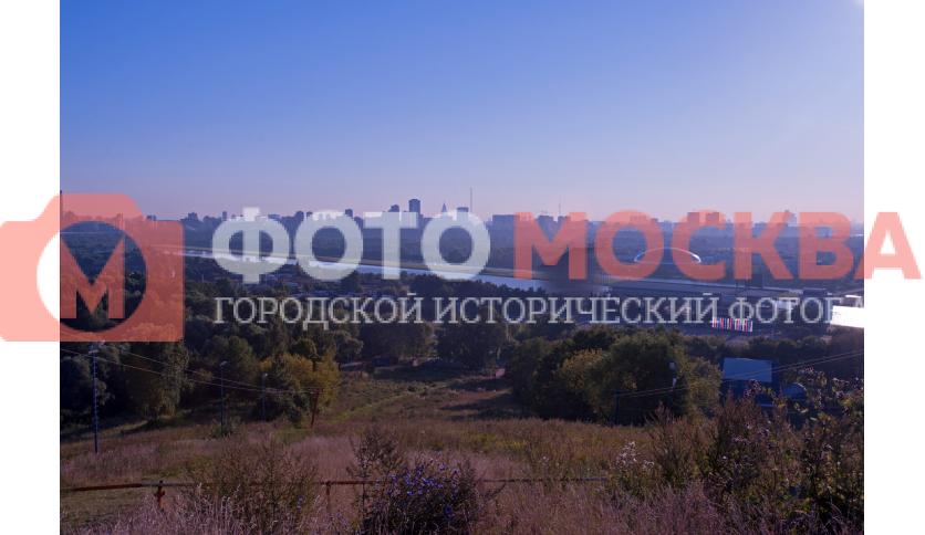 Вид с Восточного Крылатского холма